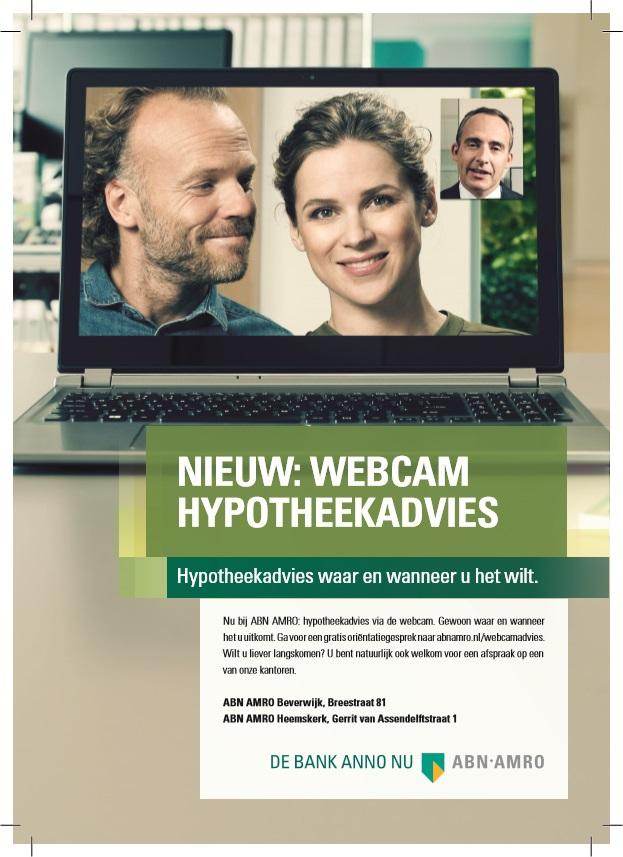 ABN AMRO Webcam Hypotheekadvies