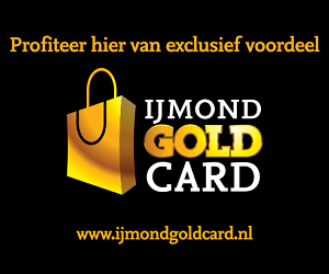 IJmond Gold Card banner